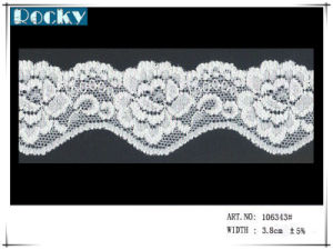 Pink Nylon Lace Trimming Triat Lace for Ladies Dress pictures & photos