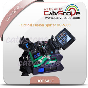 Multi-Functional 7 Seconds Fast Splicing Optical Fusion Splicer Csp-800