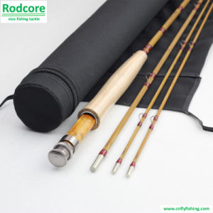 7ft6in 4wt Hand Made Splitted Tonkin Bamboo Fly Rod pictures & photos