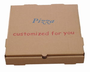 Hotsale Brown Color Pizza Packing Boxes with Custom Printing pictures & photos