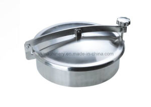 Sanitary Stainless Steel Non-Pressure Round Manhole