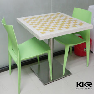 Modern Furniture Solid Surface Restaurant Table pictures & photos