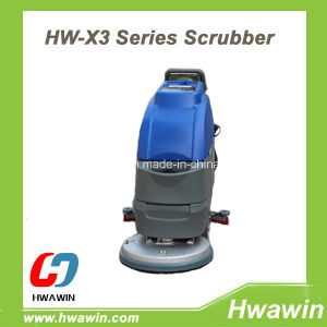 Automatic Walk Behind Floor Scrubber Dryer with Ce pictures & photos