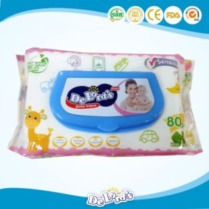 pH Balanced Vitamin E Premium Baby Wipes pictures & photos