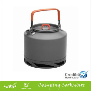 Camping Kettle, Tea Pot, Coffee Pot with Heat Transmitter pictures & photos