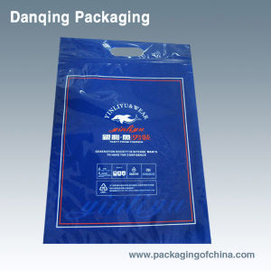 Clothes Packaging, Three Side Seal Bag (DQ) pictures & photos