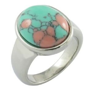 Stainless Steel Metal Ring Stone Ring pictures & photos
