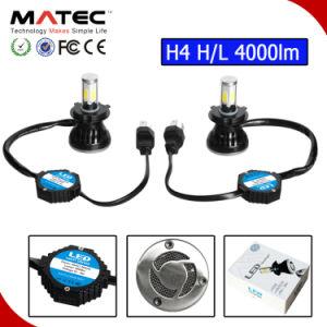 6000k H/L H4 H13 9004 9007 H4 LED Headlight 80W pictures & photos