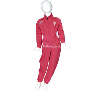 High Quality 100%Polyester Kid′s Sport Tracksuits pictures & photos
