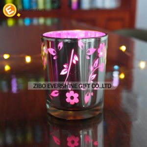 Decorative Fishtail Shaped Made in China Glass Candle Holders pictures & photos