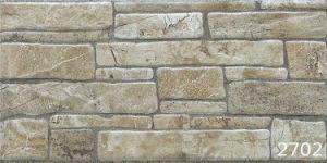 Porcelain 3D Antique Stone Exterior Wall Tile (200X400mm) pictures & photos