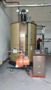 Vertical Oil (Gas) Steam Boiler (LHS2-1.0 - Y/Q2000) pictures & photos
