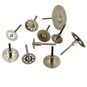 10PCS Diamond Cutting Discs Cut-off Wheel Set (GMH0011) pictures & photos