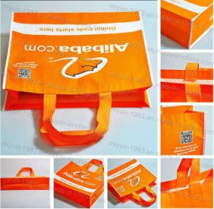 Promotional Gifts Reusable Eco Friendly Non-Woven Fabric Foldable Carry Shopping Tote Bag (M. Y. M- 102) pictures & photos