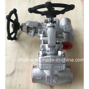 API602 Forged Carbon Steel or Stainless Steel Thread Globe Valve pictures & photos