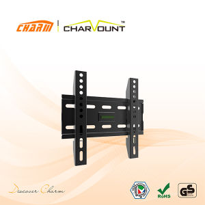 Remote Control Tv Mount china economy fixed double arm tv support, motorized bracket