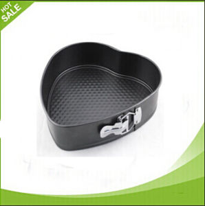 Heart Shape Hot Sale Carbon Steel Cake Baking Pans
