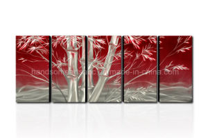 Bamboo Design Metal Wall Art with Fine Workmanship pictures & photos