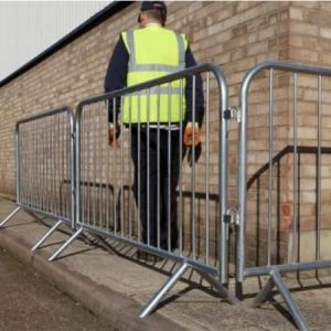 1100X2200mm Galvanized Crowd Control Barrier for Events/Traffic Steel Barrier pictures & photos