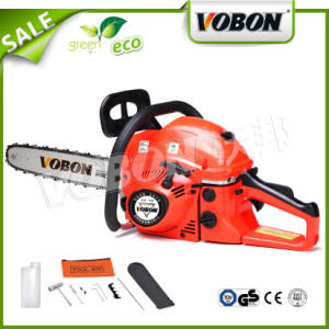 Garden Decoration Gasoline Chain Saw 45cc pictures & photos