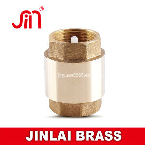 Brass Spring Check Valve-Pn16 Nylon Core (JL-305A)