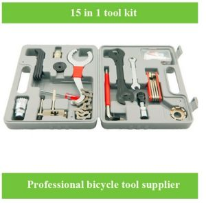 Low Price Bicycle 15PCS Repair Tool Set pictures & photos