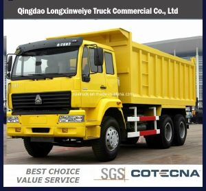Golden Prince 6X4 336HP Engine Tipper Truck pictures & photos