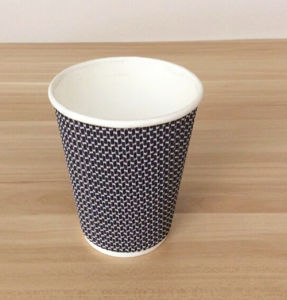 Hot Sale Black Double Wall Cup (YH-L203) pictures & photos
