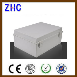 Factory Price IP65 Waterproof ABS Plastic Junction Box with Hinged Lid pictures & photos