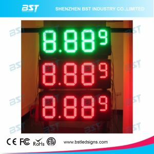 Red Color Outdoor Waterproof LED Gas Price Changer Sign pictures & photos