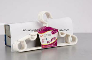 Tubular Plastic Hanger, Plastic Clothes Hanger pictures & photos