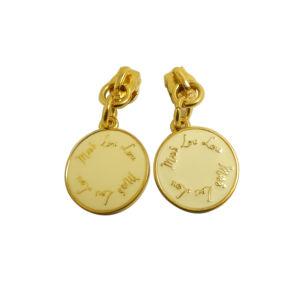 Fashion Light Gold Custom Metal Zipper Puller pictures & photos