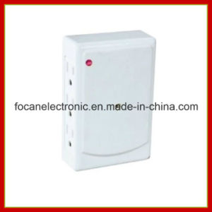6 Outlets Side Entry Surge Protected Current Tap with Indicator pictures & photos