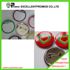 Customized Size Promotional Metal Pin Badge (EP-B7028) pictures & photos
