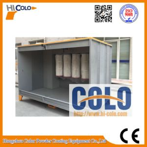 Top Quality Factory Price Manual Spray Booth for Powder Coating pictures & photos