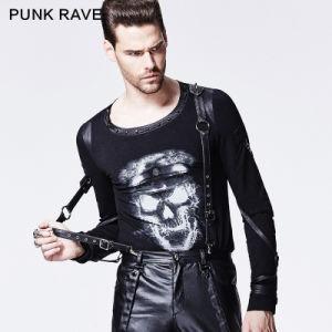 Newest Design Punk Rave Rivet Straps Accessories for Man (S-155) pictures & photos