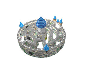 New Design Commercial Sports Game Inflatable Castle Maze Chob1137 pictures & photos