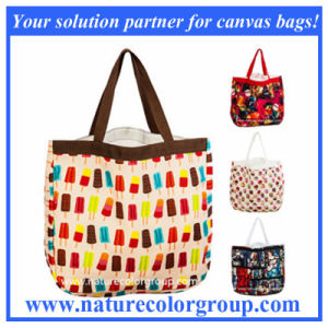 Summer Fashion Colorful Leisure Shopping Beach Bag with Large Capacity pictures & photos