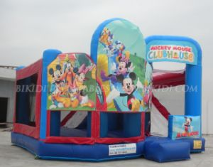 Inflatable 5 in 1 Snow Themed Playhouse, Inflatable Bouncer pictures & photos