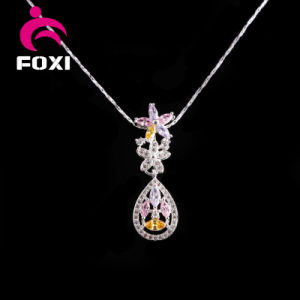 Plated Silver Zircon Jewelry Fashion Jewelry Sets for Girls Daily Wear pictures & photos
