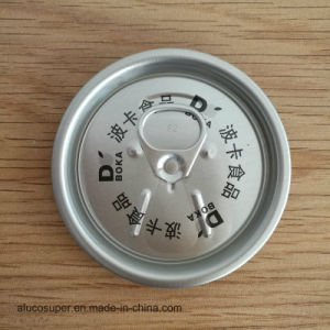 Food Grade Aluminum Beverage Can Lids 206# 58mm Easy Open End pictures & photos