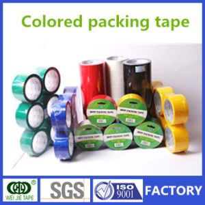 Weijie BOPP Adhesive Colored Packing Tape pictures & photos