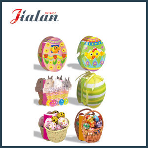 Custmonize Matte Laminated Ivory Paper Easter Egg Gift Paper Bag pictures & photos