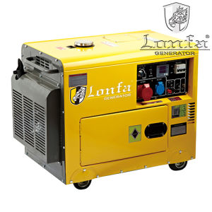 Hot Sale 7kVA Super Silent Diesel Generator pictures & photos