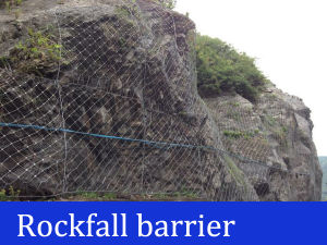 Wire Rope Net Rockfall Barriers pictures & photos
