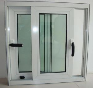 PVC Window and Door/UPVC Window with Double Glazing