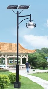 Outdoor LED Courtyard Solar Street Light for Garden Landscape Yard pictures & photos