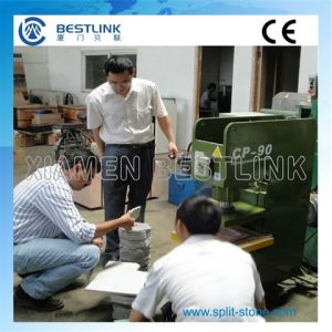 Multi Functional Hydraulic Stone Veneer Tile Cutting Machine pictures & photos