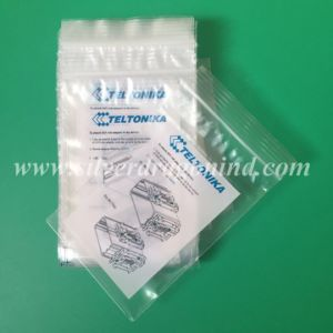 Plastic Header Bag with Tape for Waste Packing pictures & photos