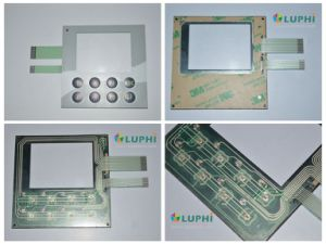 Backlighting Embossed Buttons Tactile Membrane Switch pictures & photos